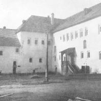 Псков. Поганкины палаты — XVII век (вид со двора)