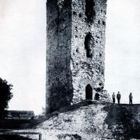 Столпье (Польша). Башня. Вторая половина XIII - первая половина XIV в. Фото из архива Института Археологии АН СССР