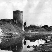 Псков. Гремячья башня стены Запсковья. 1525 г. Фото А. А. Александрова