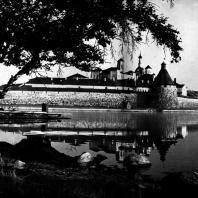 Соловки (Архангельская обл.). Соловецкий монастырь. Вид с северной стороны Фото Д. С. Смирнова