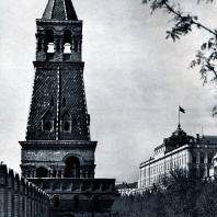 Москва. Кремль. Надстройка Безымянной башни. Вторая половина XVII в. Фото А. А. Тартаковского