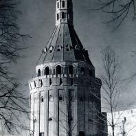 Москва. Симонов монастырь. Башня «Дуло». 1642 г. Фото из фондов Музея архитектуры им. А. В. Щусева