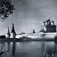 Иосифо-Волоколамский монастырь (Московская обл.). Вид с северной стороны Фото А. А. Александрова