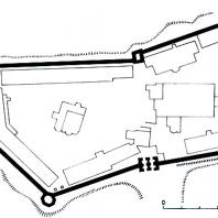 Звенигород. Саввино-Сторожевский монастырь. 1650-1654 гг.