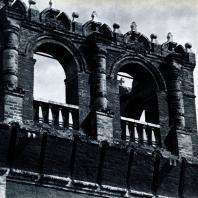 Москва. Донской монастырь. Фрагмент башни западной стены. 1697-1701 гг. Фото А. А. Александрова