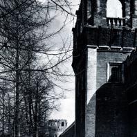 Москва. Донской монастырь. Башни северной стены. 1697-1701 гг. Фото А. А. Александрова
