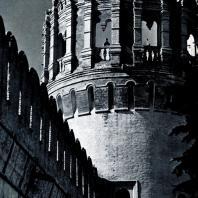 Москва. Новодевичий монастырь. Фрагмент Напрудной башни. Конец XVII в. Фото А. А. Александрова