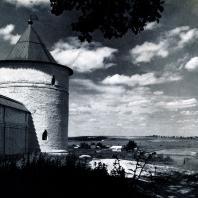 Можайск (Московская обл.). Лужецкий монастырь. Угловая башня. 1681-1682 гг. Фото А. А. Александрова