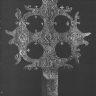 Людогощенский крест. Резчик Яков Федосов. Новгород, 1359 г. Новгородский музей-заповедник