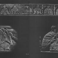 Тябло (доска иконостаса). Север, XIII в. Государственный исторический музей