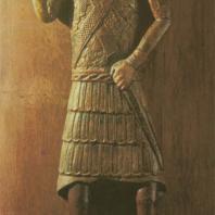 «Никита, избивающий беса». Москва, начало XVII в. Музей Московского Кремля
