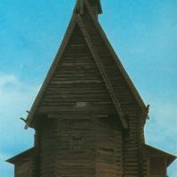 Церковь Преображения из села Спас-Вёжи. 1628 г. Костромской музей-заповедник