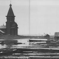 Успенская церковь в Кондопоге. Карелия, XVIII в.