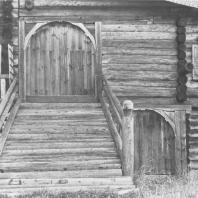 Дом Ошевнева. Фрагмент. Кижи, XIX в.