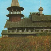 Часовня в Волкострове. Кижи, XVIII в.