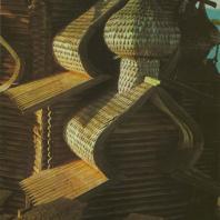 Преображенская церковь. Фрагмент. Кижи, 1714 г.