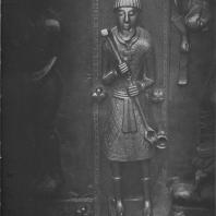 «Мастер Авраам». Фрагмент Корсунских врат Софийского собора. Новгород, XIII—XIV вв. (?)