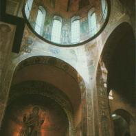 Софийский собор. Интерьер. Киев, XI в.