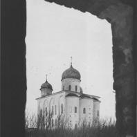 Георгиевский собор Юрьева монастыря. Новгород, 1119 г.