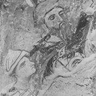 «Волхвы». Фреска Рождественского собора Антониева монастыря. Фрагмент. Новгород, 1125 г.