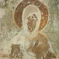 «Богоматерь». Фреска церкви Спаса на Ильине. Феофан Грек. Новгород, 1378 г.