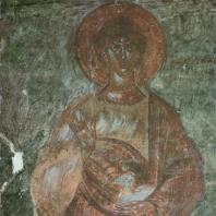 «Авель». Фреска церкви Спаса на Ильине. Феофан Грек. Новгород, 1378 г.
