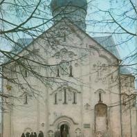Церковь Спаса на Ильине. Новгород, 1374 г.