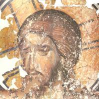 «Христос во гробе». Фреска церкви Спаса на Ковалеве. Фрагменты. Новгород, 1380 г.