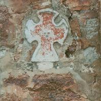 Фрагмент апсиды церкви Петра и Павла в Кожевниках. Новгород, 1406 г.
