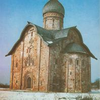 Церковь Петра и Павла в Кожевниках. Новгород, 1406 г.