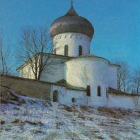 Преображенский собор Мирожского монастыря. Псков, 1156 г.
