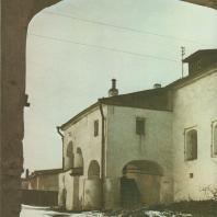 Жилые палаты («Солодежня»). Псков, XVII в.