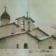 Церковь Покрова в Углу. Псков, XVI в.