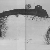 Изборская крепость. XIV в.