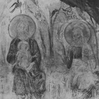 «Рай». Фреска Дмитриевского собора. Фрагмент. Владимир, XII в.