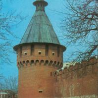 Башня тульского кремля. XVI в.