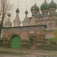Церковь Воскресения на Дебре. Кострома, 1652 г.