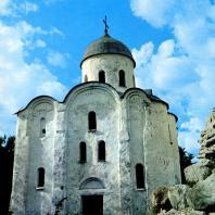 Старая Ладога. Церковь Георгия. Вид с южной стороны. Вторая половина XII в.