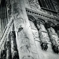 Владимир на Клязьме. Дмитриевский собор. Скульптурный декор фасада. Фрагмент. 1193-1197