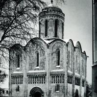Владимир на Клязьме. Дмитриевский собор. Вид с западной стороны. 1193-1197