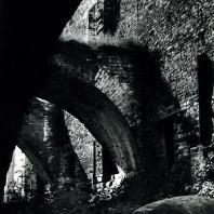 Соловецкий монастырь. Аркбутаны восточной части оборонительной стены