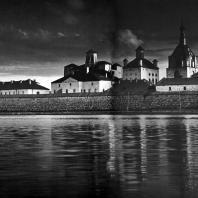 Соловецкий монастырь. Вид со стороны Святого озера