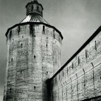 Кирилло-Белозерский монастырь. Ферапонтовская (Московская) башня. XVI в.