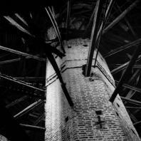 Кирилло-Белозерский монастырь. Угловая Кузнечная башня. Внутренний вид. XVII в.