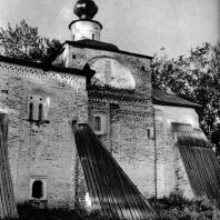 Кирилло-Белозерский монастырь. Участок Ивановского монастыря. Церковь Сергия Радонежского. 1560-1594