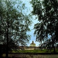 Кирилло-Белозерский монастырь. «Новый город». Вдали Вологодская башня. XVII в.
