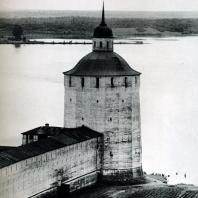 Кирилло-Белозерский монастырь. Большая Мереженная (Белозерская) башня. XVII в.