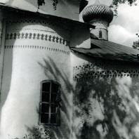 Кирилло-Белозерский монастырь. Церковь Владимира. Фрагмент восточного фасада. 1554