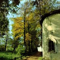 Кирилло-Белозерский монастырь. Церковь Владимира. Фрагмент абсиды. 1554