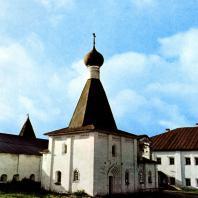 Кирилло-Белозерский монастырь. Церковь Евфимия. 1653